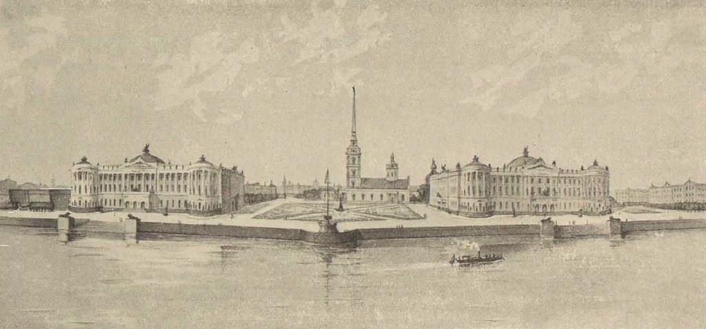 Реконструкция Петропавловской крепости