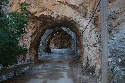 Túneles de acceso a Ejulve