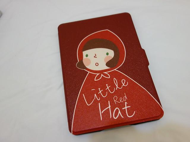 封面@淘寶小紅帽Kindle PaperWhite保護套