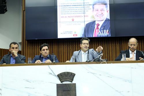 Audiência pública para discutir sobre o Projeto de Lei nº 1.749/2015, que Aprova o Plano Diretor do Município de Belo Horizonte - Comissão de Desenvolvimento Econômico, Transporte e Sistema Viário