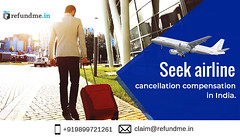 Seek airline cancellation compensation in India. refundme.in