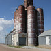 Grain Elevator - Blue Hill, NE by The Bouncing Czech