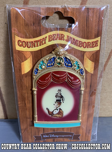 2019 Disney Imagineering Limited Edition Henry Pin - Country Bear Collector Show #179