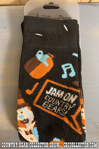 2018 Disney Style Country Bear Socks - Country Bear Collector Show #172