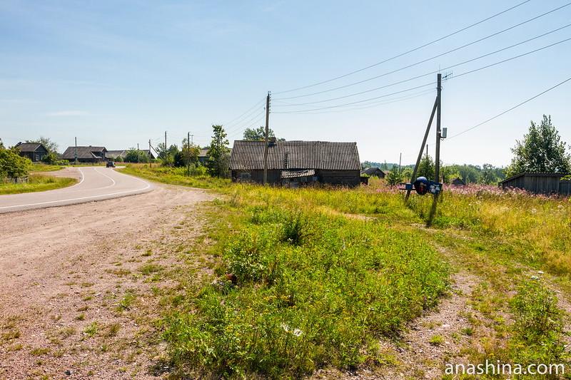 Деревня Погранкондуши, Карелия