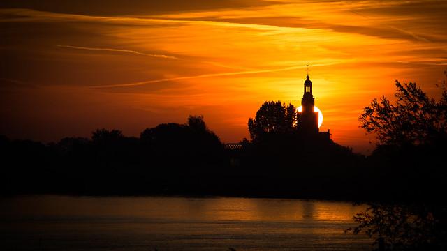 De kerk van Streefkerk, Canon EOS 6D, Canon EF 70-200mm f/2.8L IS