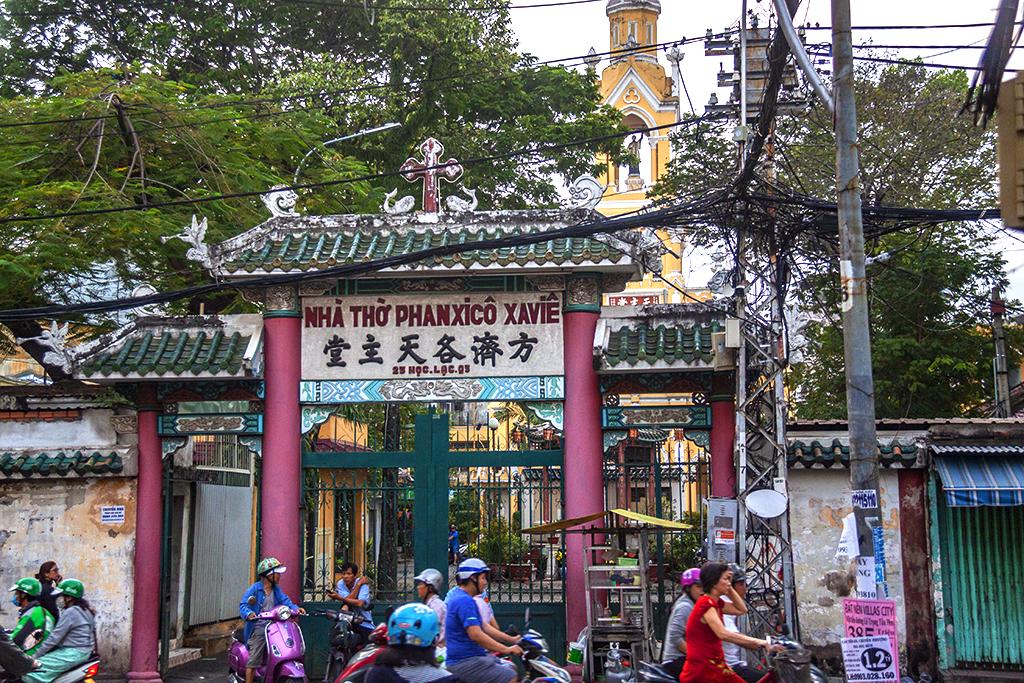 Gate of Cha Tam Church--Saigon