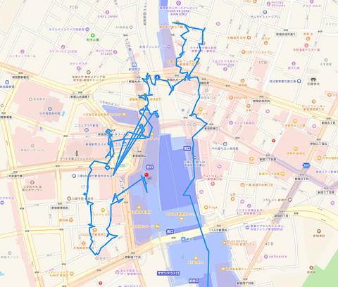 西新宿〜歌舞伎町