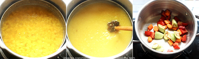 How to make hotel sambar - Step3