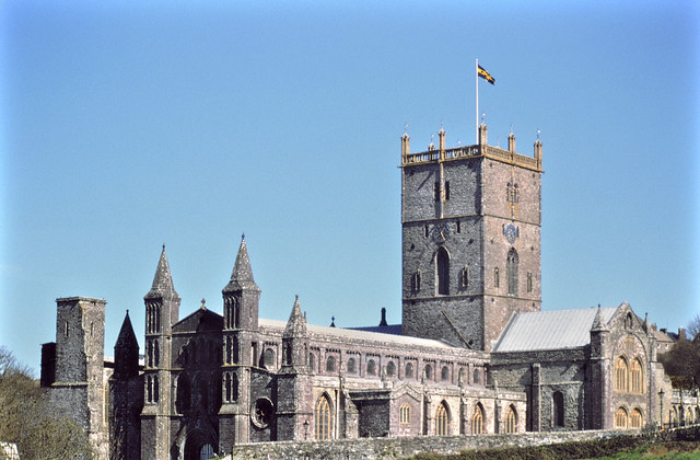 St. Davis Cathedral, Pembrokeshire, Wales