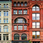 US KY Louisville - compact downtown with great buildings - Meyer Building, 624 W Main Street