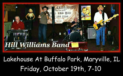 Hill Williams Band 10-19-18