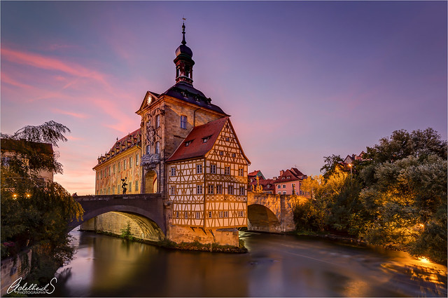 Evening in Bamberg, Germany