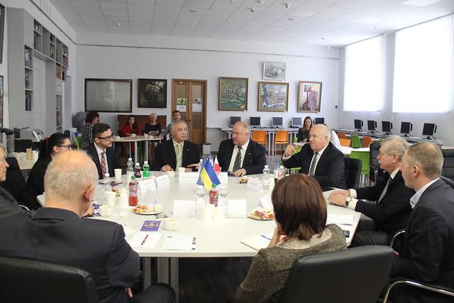 Візит польської делегації до Університету / 20.10.2018
