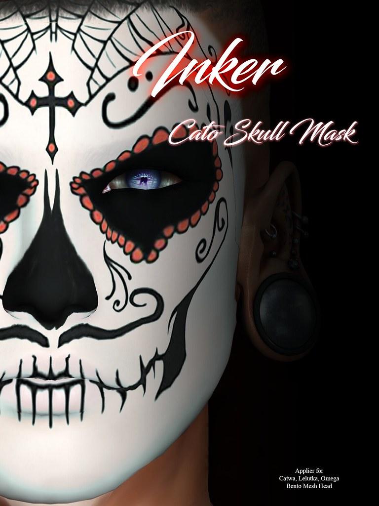 ..:: INKer ::.. Cato Skull Mask - TeleportHub.com Live!