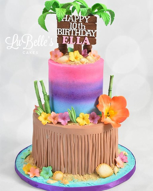 Cake by LuBelle's Cakes