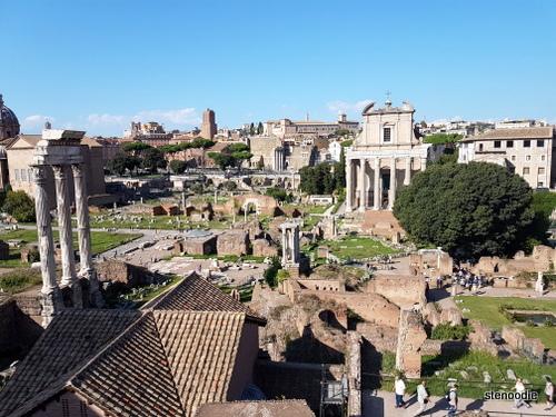 Roman Forum in September