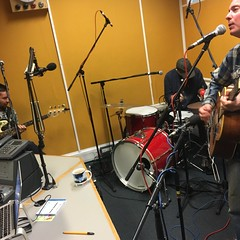 The Wave Pictures & CRX (Camp X-Ray) performing live in session on The deXter Bentley Hello GoodBye Show on Resonance 104.4 FM in Central London on Saturday 22nd September 2018