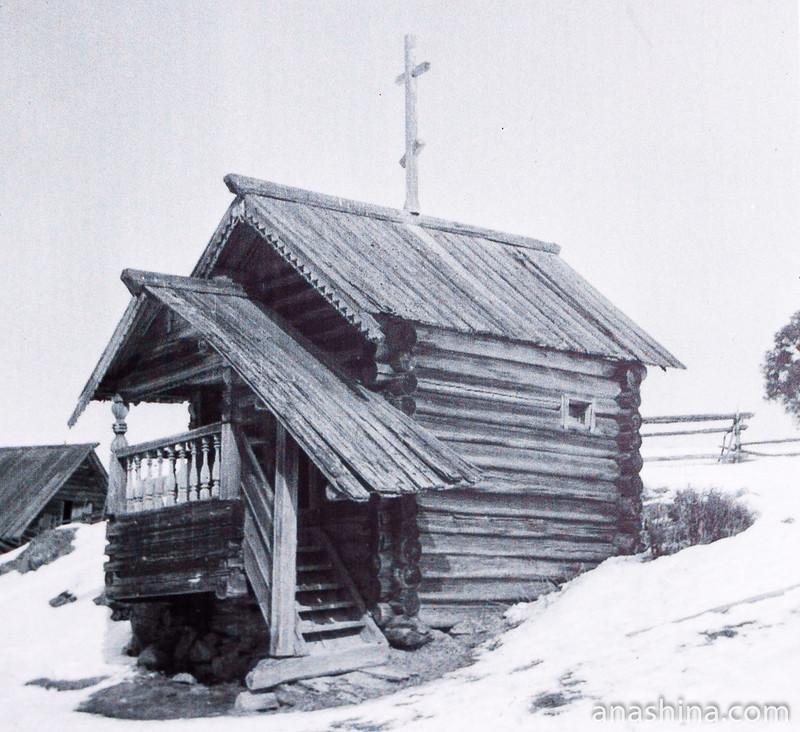 Часовня святого Василия Великого в деревне Горы