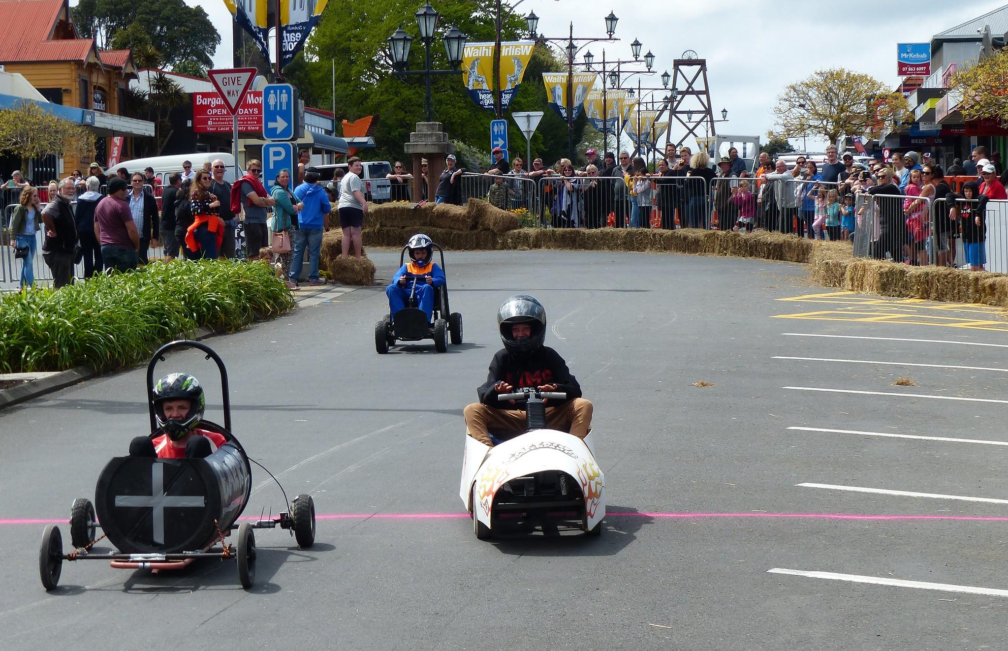 GO Waihi Trolley Derby 2018