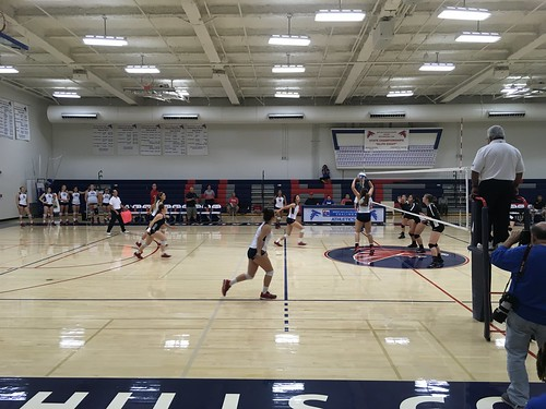 WHCC volleyball vs Reedley: Student Perspective