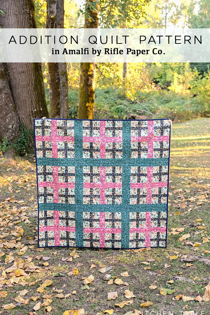 Addition Quilt Pattern in Amalfi - Kitchen Table Quilting