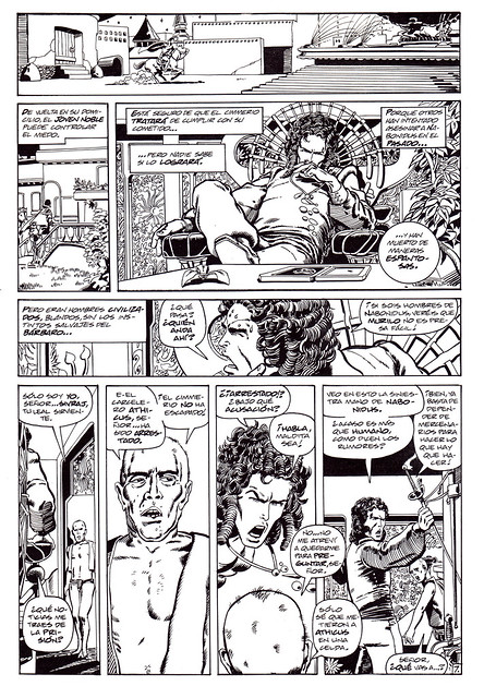 Conan de Roy Thomas y Barry Windsor Smith 04 -03- Villanos en La Casa -01