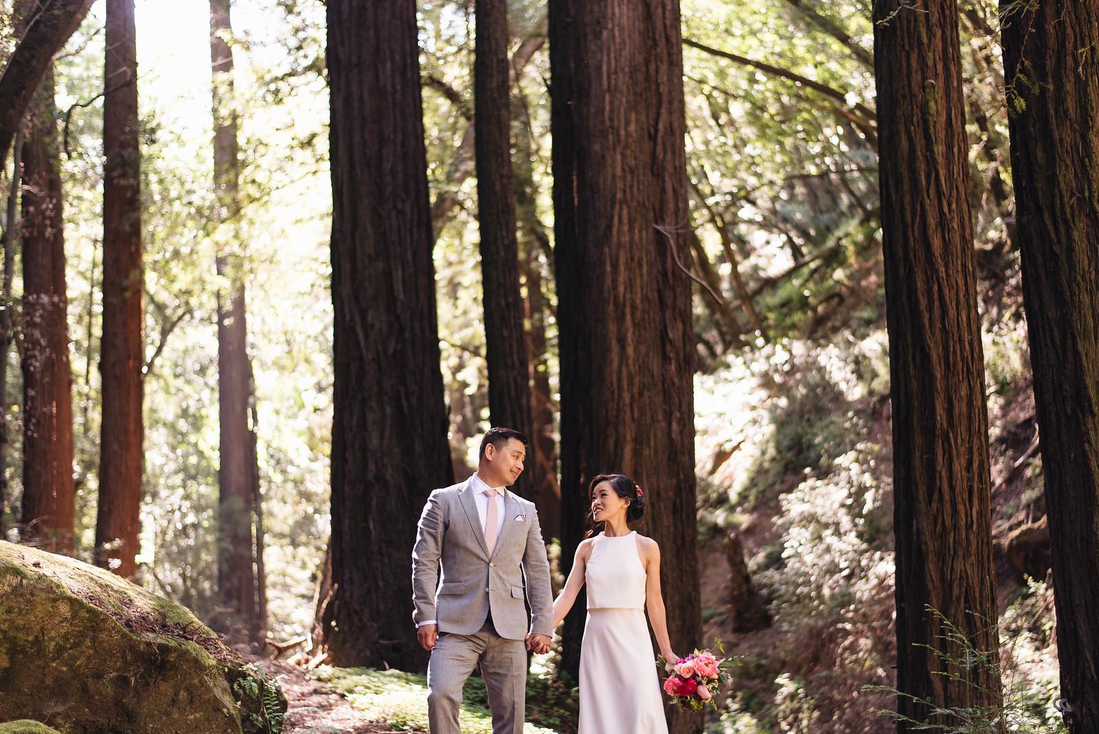 Redwoods Northern California Wedding Photographer on juliettelaura.com