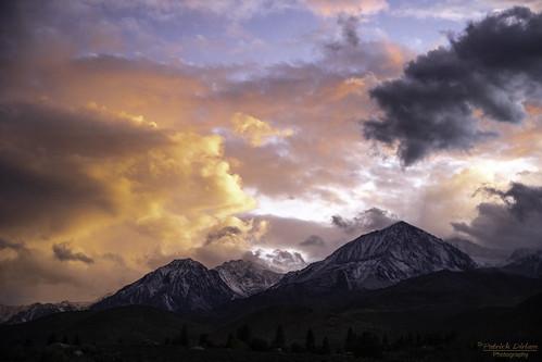Glacier Lodge road sunset -Explore