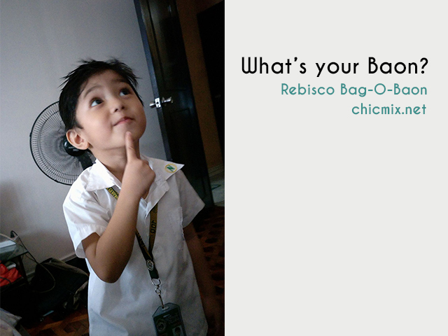 Recess for Kids and Kids at Heart : What's For Baon?