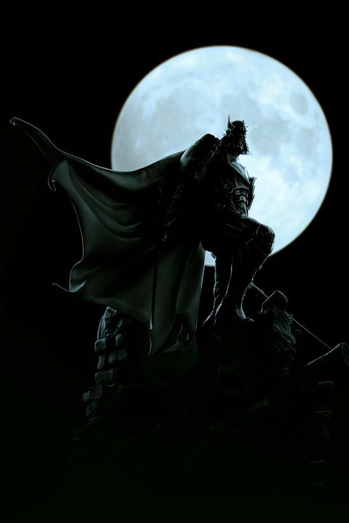 獨特造型與精湛工藝的完美結合! XM Studios × Royal Selangor 武士系列【蝙蝠俠】Samurai Series Batman 1/6 比例全身合金雕像作品