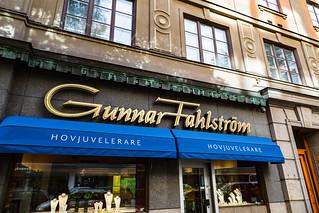 Gunnar Fahlstrom in Stockholm, Sweden