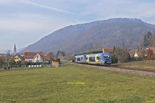 UM X73659-Champagne Ardennes- X73579-Normandie- TER832777 Kruth-Mulhouse à Moosch