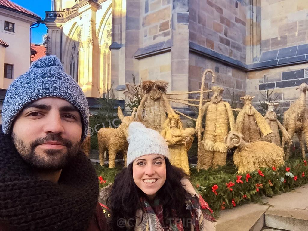 · Navidad en el barrio del castillo de Praga ·