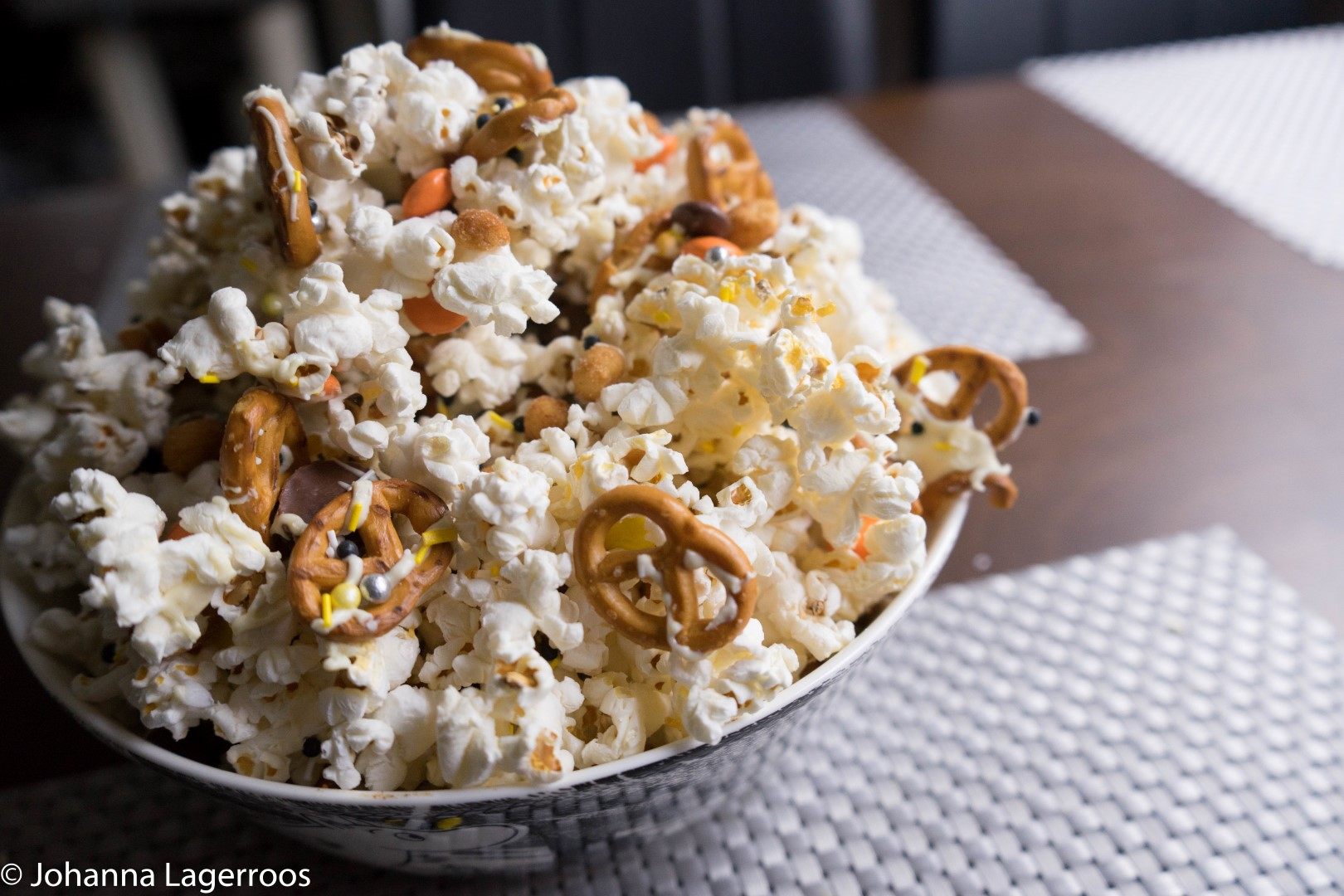 sweet and savory popcorn