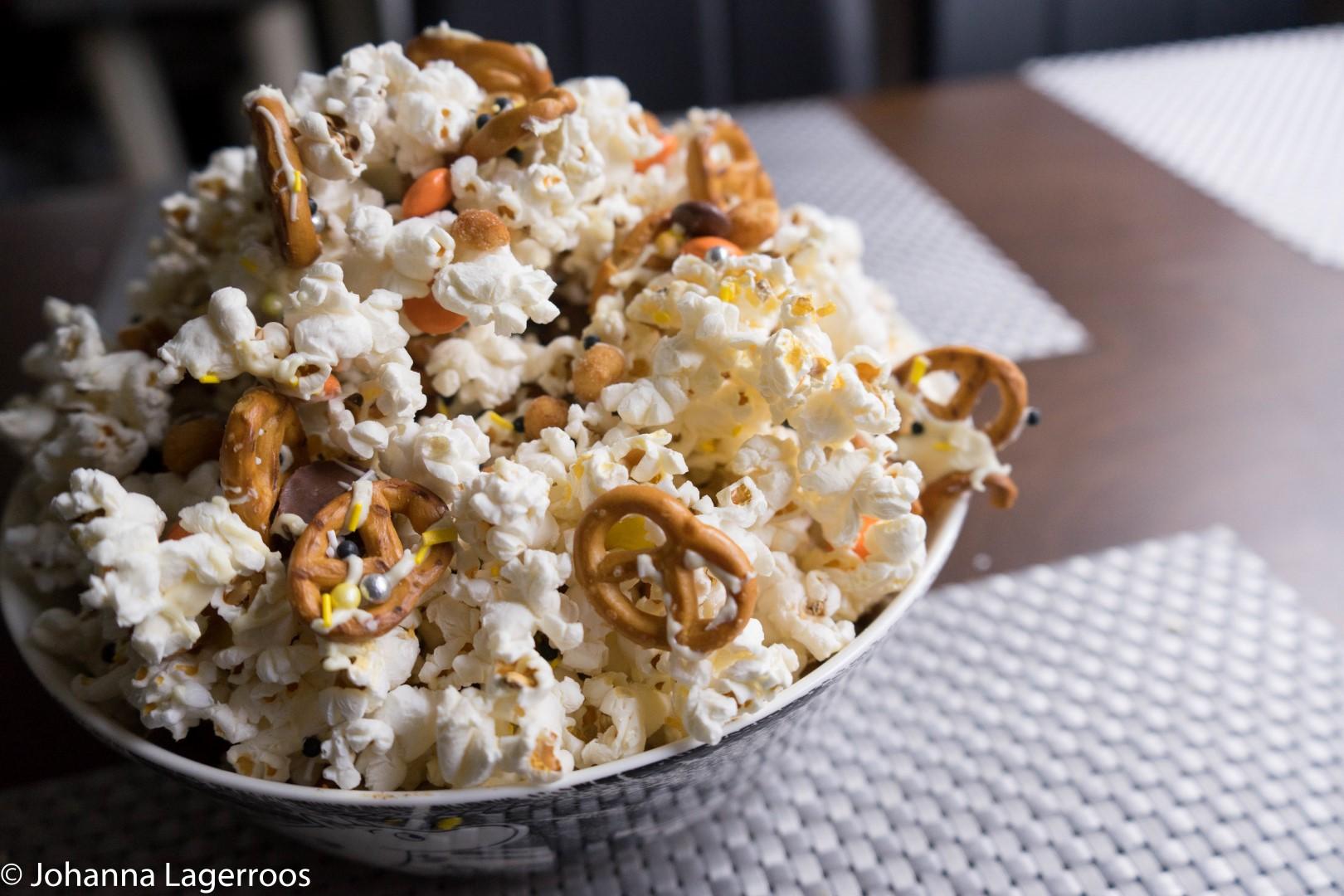 sweet and savory popcorn