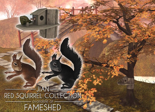 JIAN Red Squirrel Collection ( FaMESHed Oct '18 )