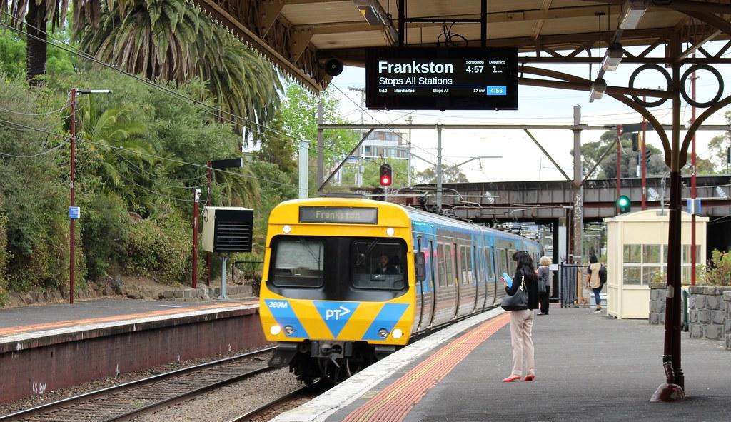 Armadale station, platform 2