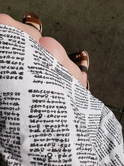 Glagolitic dress