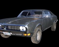 Classic car Free 3D Model