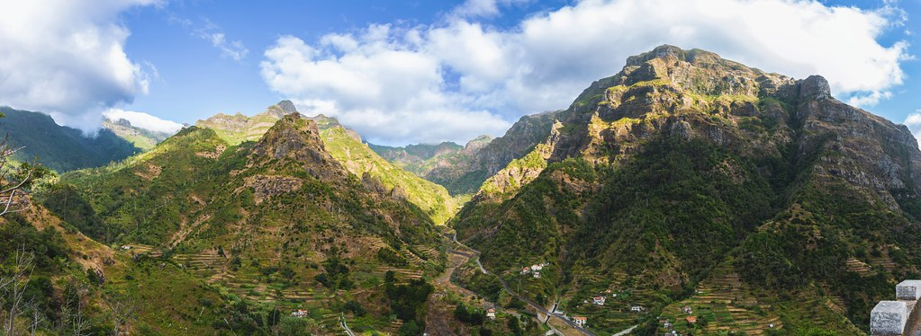 Madeira Mountain Panorama