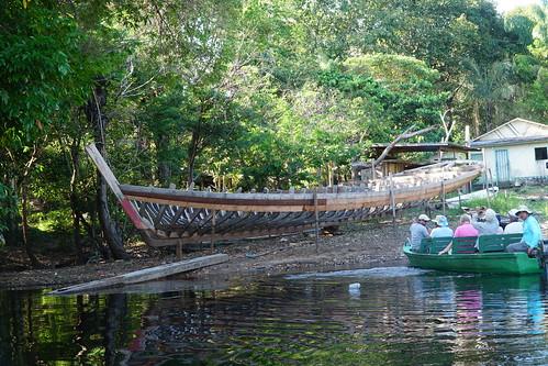 Novo Airão boatyard