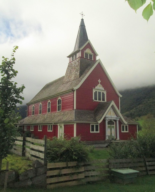 Closer View, Olden Church, Olden, Norway