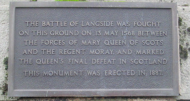 Battlefield Monument Plaque