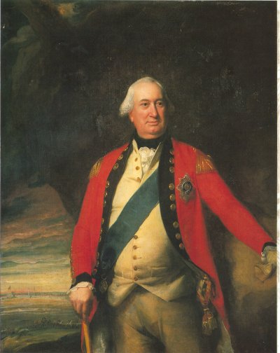 Charles Cornwallis, First Marquis of Cornwallis (1738-1805), oil on canvas painting by John Singleton Copley, circa 1795. Location of original unknown; copy at Clare College, University of Cambridge.