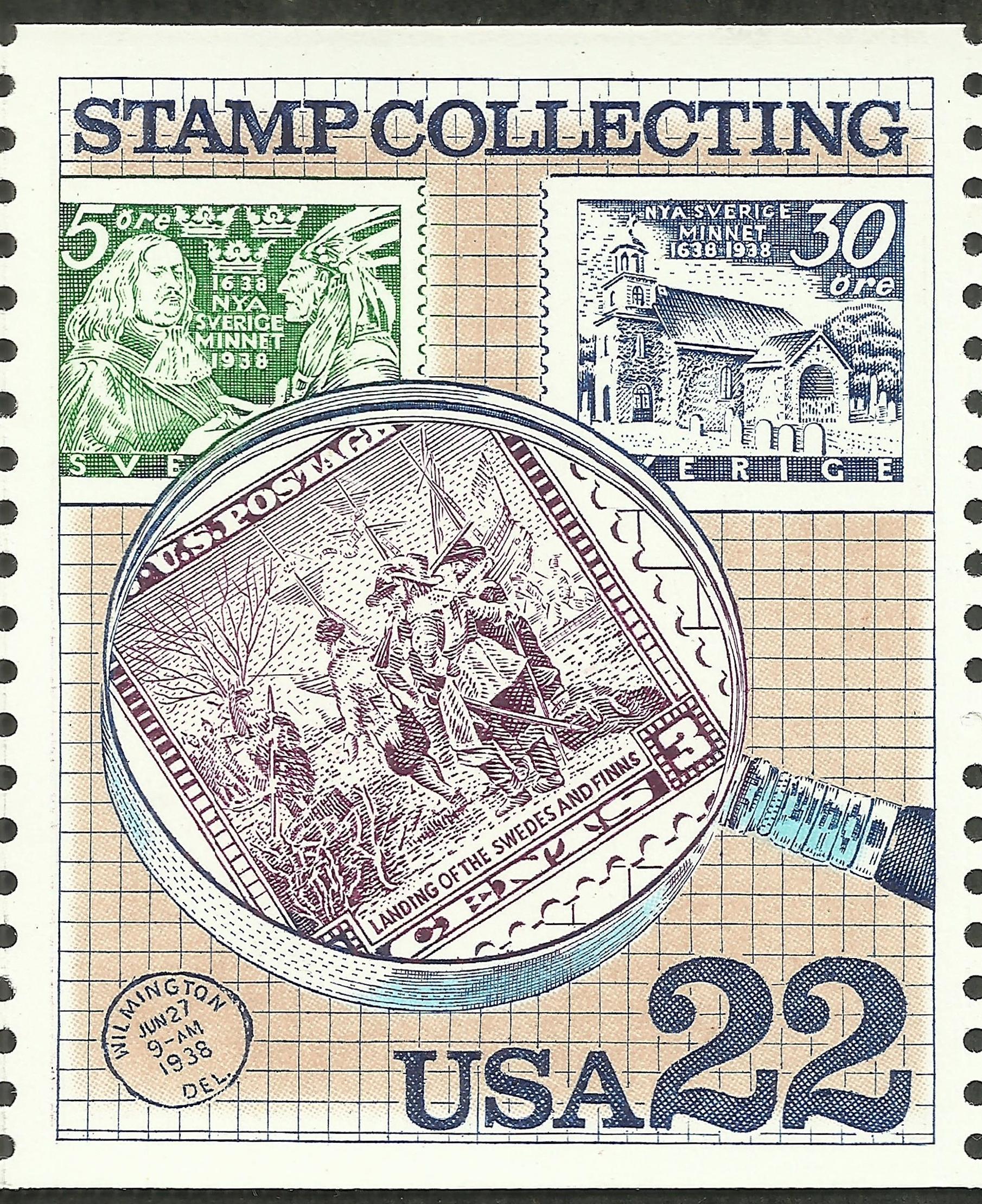 United States - Scott #2200 (1986)