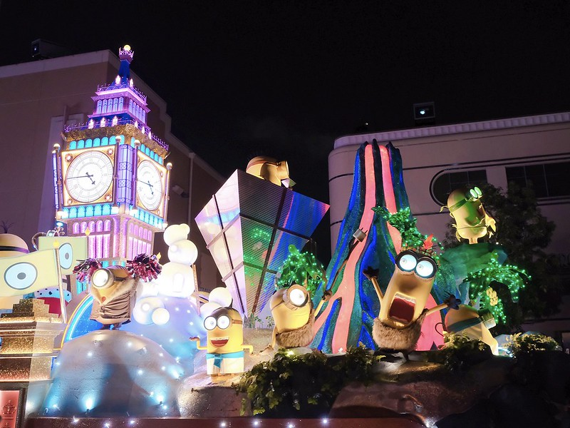 Minions USJ Halloween Night Parade