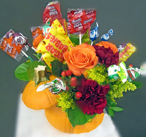 Halloween Flowers — Photo Courtesy Lisa Greene, AAF, AIFD, PFCI | by Flower Factor