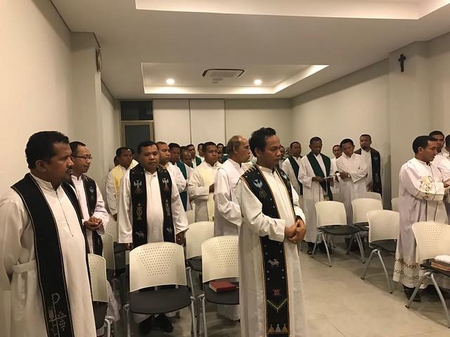 Retret Unio Keuskupan Ruteng 19-22 Oktober 2018 di Bandung
