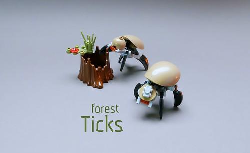 Forest Ticks LEGO MOC